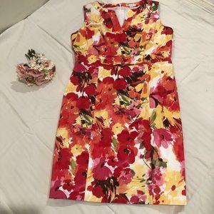 Charter club petite floral dress size 12p